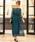 niana(ニアナ)の「総チュールレースロング 結婚式ワンピース パーティードレス 成人式 同窓会 二次会 ドレス(ドレス)」|ダークグリーン