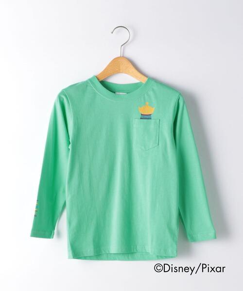 〔別注〕Disney KIDEA/ ポケットロングスリーブTシャツ