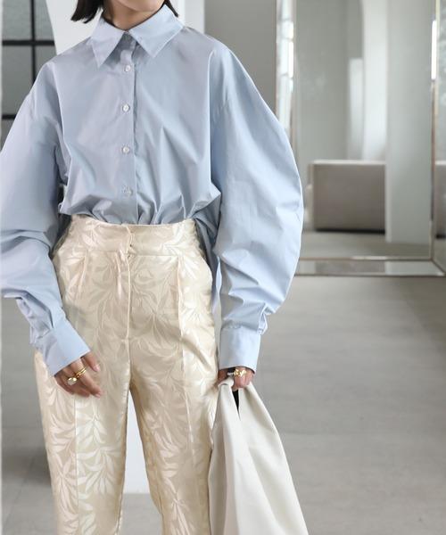 【chuclla】【2021/SS】Curve sleeve shirt sb-5 chwg1