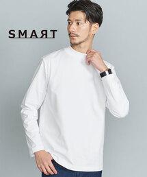 【WEB限定 WARDROBE SMART】 by クリア ガスコットン モックネック カットソー