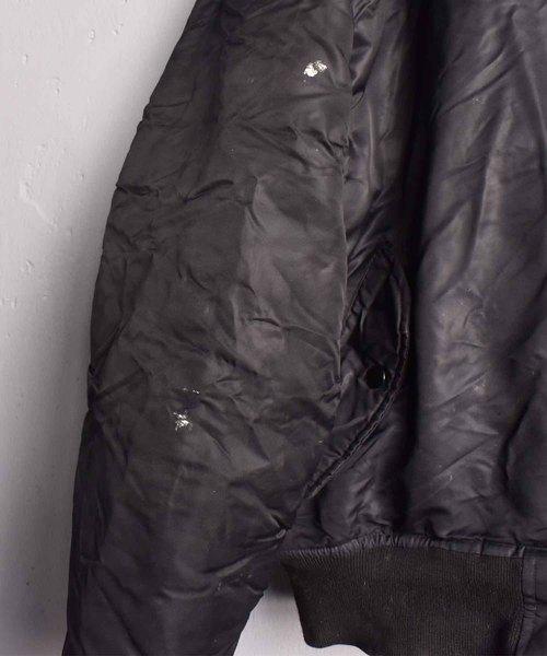 【ヴィンテージ古着】ROTHCO/ロスコ MA-1ジャケット ブラック