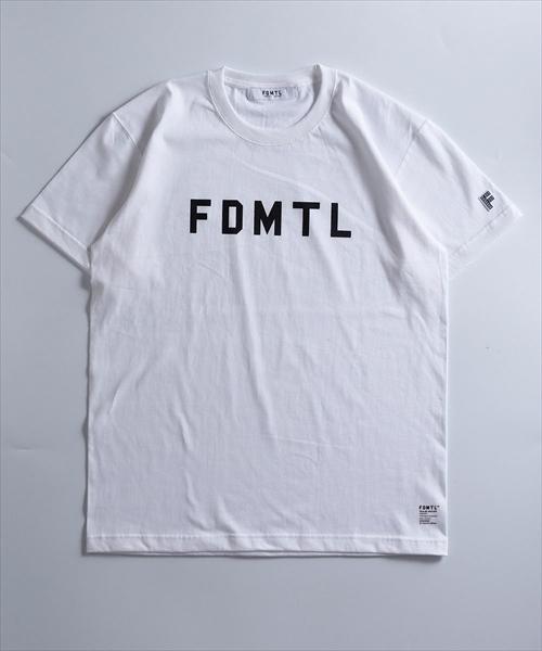 FDMTL/ファンダメンタル/LOGO TEE
