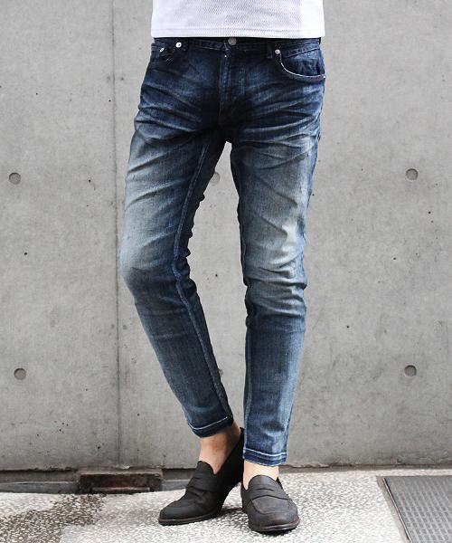 爆売り! HIGH STREET∴全面ブラストデニム(パンツ)|HIGH HIGH STREET(ハイストリート)のファッション通販, FIRST SELECTION:b596c6c1 --- fahrservice-fischer.de