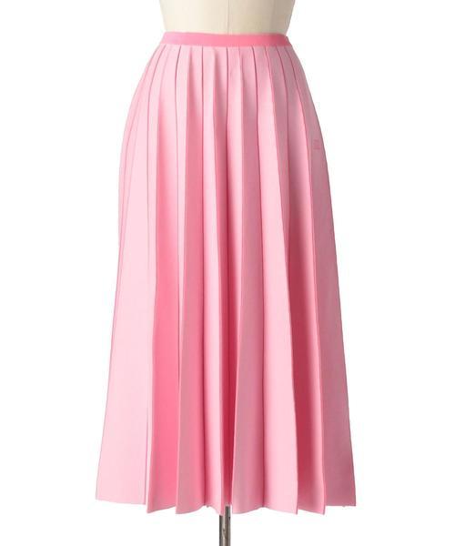 Drawer 18Gプリーツニットスカート(ピンク)