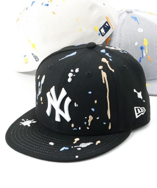 ニューエラ キャップ 59FIFTY SPLASH EMBROIDERY MLB ニューヨークヤンキース NEW ERA
