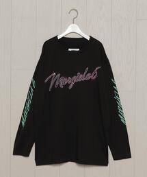 <MM6 Maison Martin Margiela>NEON PRINT LONG SLEEVE T-SHIRT/Tシャツ.