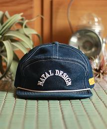 NATAL DESIGN(ネイタルデザイン)の【ネイタルデザイン】グッドボーイキャップ デニムGOOD BOY CAP DENIM(キャップ)
