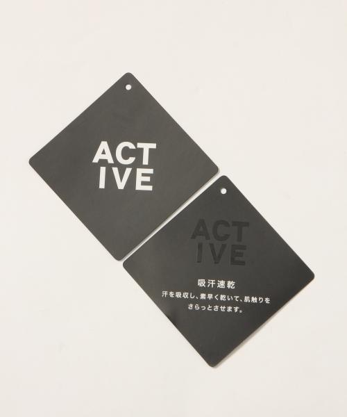 【ACTIVE】スウェットブルゾン Men/777617
