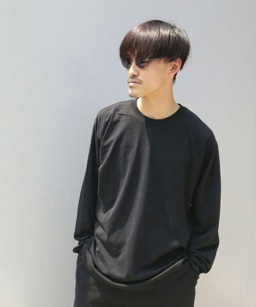 4cf45f17d043a3 LOS ANGELES APPAREL/ロサンゼルスアパレル/6.5OZ L/S CREW NECK TEE【UNISEX】(Tシャツ/カットソー)|GARDEN  TOKYO(ガーデントウキョウ)のファッション通販 - ...