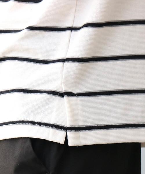 Confirm / コンファーム サーフニットボーダーTシャツ