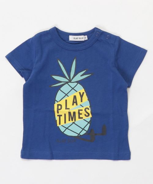 SLAP SLIP/天竺パインプリントTシャツ