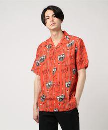 RUMBLERS総柄 アロハシャツ