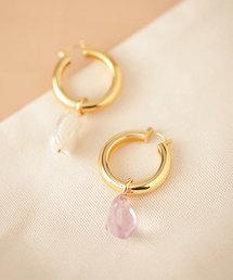 lizzie fortunato jewels(リジーフォルトゥナート)のLizzie Fortunato/アシンメトリーチャームピアス(ピアス(両耳用))