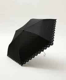 Afternoon Tea(アフタヌーンティー)のパンチングフラワー晴雨兼用折りたたみ傘 日傘(折りたたみ傘)