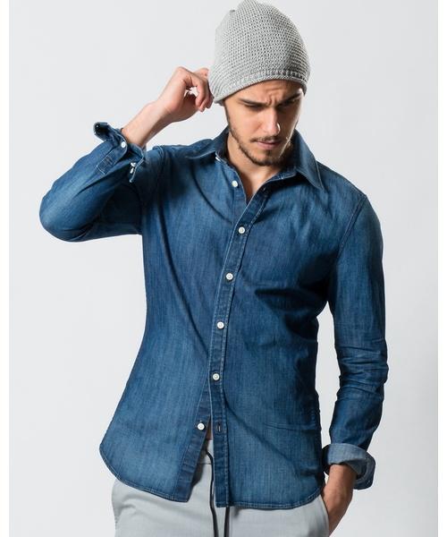 素晴らしい品質 dungaree shirt(シャツ/ブラウス)|wjk(ダヴルジェイケイ)のファッション通販, 自然の美味しさお届け便:3227cde1 --- fahrservice-fischer.de