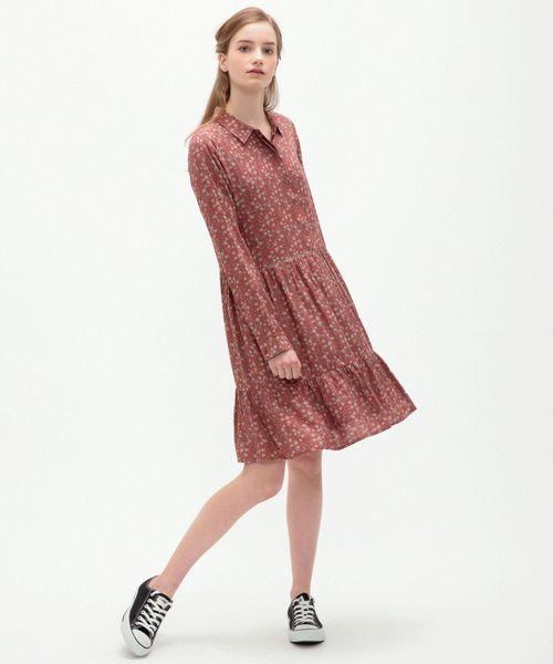 【ギフ_包装】 【セール &】『indi & cold(インディ&コールド)』小花柄ワンピース【大きいサイズ対応 SOLO】【15号(3L)】(ワンピース)|sabstreet my my standard(サブストリートマイスタンダード)のファッション通販, オトクニグン:2f845237 --- saffronprinters.com
