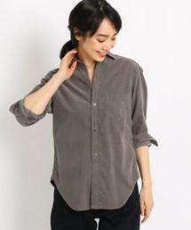 JET(ジェット)の【洗える】コットンコーデュロイシャツ(シャツ/ブラウス)
