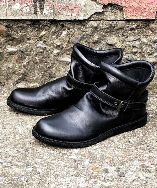 BICASH(ビカーシ)の「【BICASH/ビカーシ】エンジニアショートブーツ/#018L(ブーツ)」|ブラック