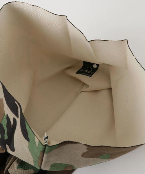 TEMBEA(テンベア)の「TEMBEA / テンベア:PAPER BAG WOODLAND CAMO:TMB-1442H-C-WOODLAND[DEA](クラッチバッグ)」|詳細画像