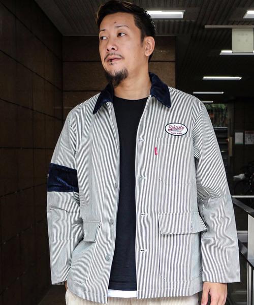 【お気にいる】 BDU WORK JACKET(カバーオール) Subciety(サブサエティ)のファッション通販, サンヨウチョウ:fe52b669 --- blog.buypower.ng