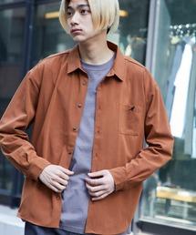 KANGOL/カンゴール 別注 L/S オーバーサイズレギュラーカラーシャツ(2019AW)ベージュ系その他