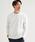 green label relaxing(グリーンレーベルリラクシング)の「CM フェイクレイヤード クルー LS カットソー(Tシャツ/カットソー)」|ホワイト
