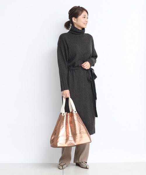 最新のデザイン ベルト付きニットワンピース(ワンピース)|DouDou(ドゥドゥ)のファッション通販, パソコンショップ コムショット:192c3534 --- ulasuga-guggen.de