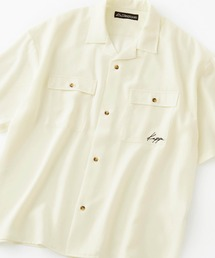 Kappa(カッパ)のKappa/カッパ 別注 リラックスオープンカラーオーバーサイズ半袖CPOシャツ(シャツ/ブラウス)
