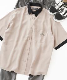 kappa リラックスオープンカラー/レギュラーカラーシャツ オーバーサイズCPOシャツ(半袖)