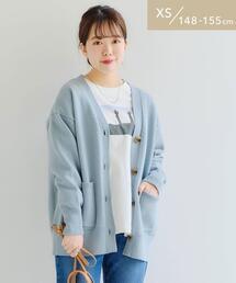 [ XS / H148-155cm ]★★CFC Vネック ミドル丈 カーディガン