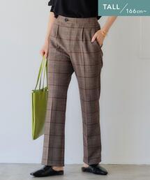 【WEB限定】[ TALL /H166�p〜]Beauty パンツ �U チェック