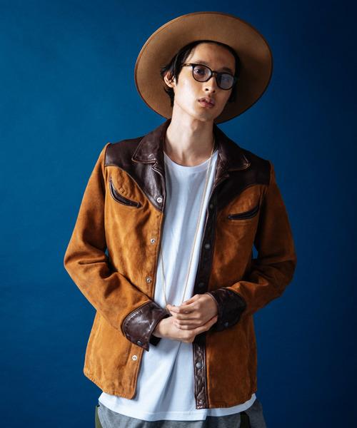 【全商品オープニング価格 特別価格】 Western/ leather JKT/ ウエスタンレザージャケット(その他アウター) JKT leather|glamb(グラム)のファッション通販, 阿南町:18f10d31 --- blog.buypower.ng