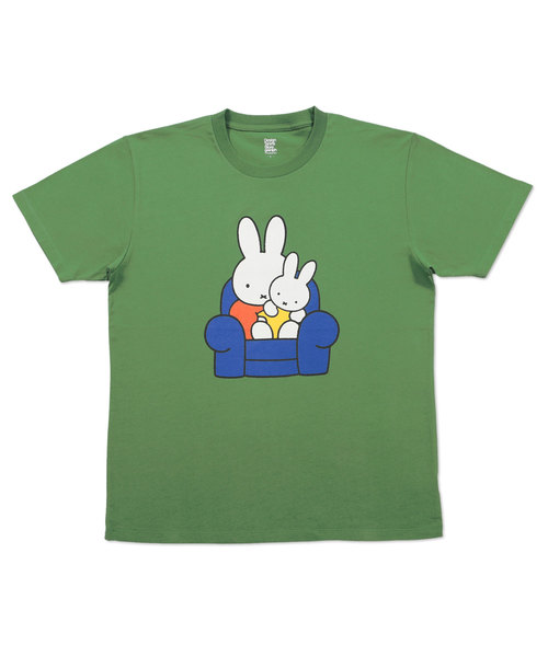 コラボレーションTシャツ/ミッフィーとあかちゃん(ミッフィー)