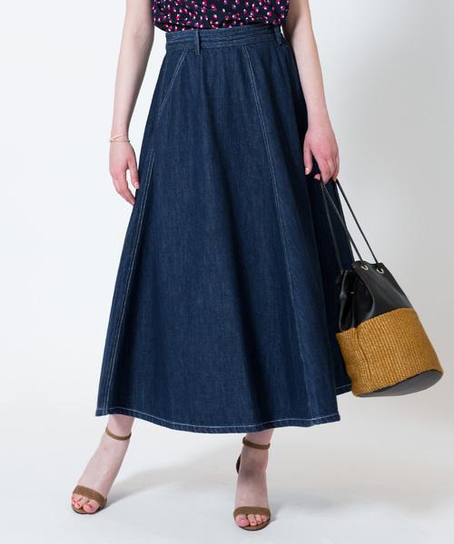 大きな取引 【セール】デニムサーキュラースカート(スカート)|allureville(アルアバイル)のファッション通販, おつまみスタジオことの葉:47cd44e9 --- wm2018-infos.de