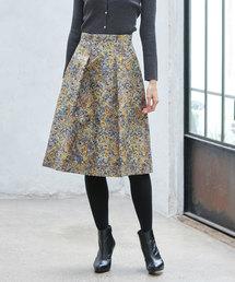 ANAYI(アナイ)の幾何ジャガードAライン スカート(スカート)