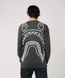BIG SHARK VINTAGE L/S TEE M(Tシャツ/カットソー)