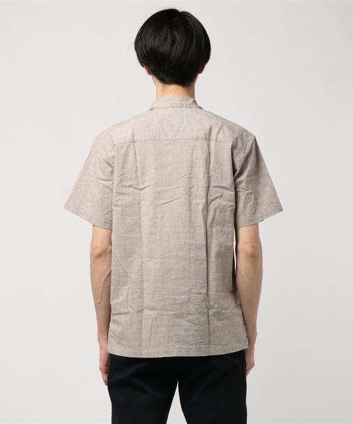【BURNER SELECT】コットンリネンオープンカラーシャツ