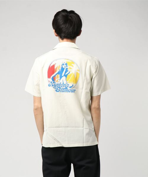 ISLAND DAYS pt 半袖オープンカラーシャツ