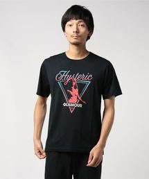 TRIANGLE FRAME Tシャツブラック