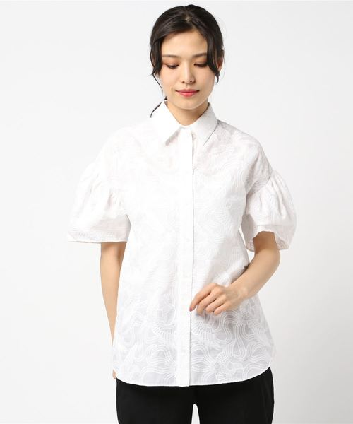 Embroidered Flying Phoenic SS Shirt