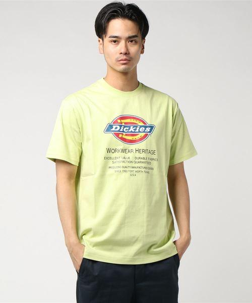 Dickies(ディッキーズ)の「Dickiesロゴプリント半袖Tシャツ(Tシャツ/カットソー)」|グリーン系その他6