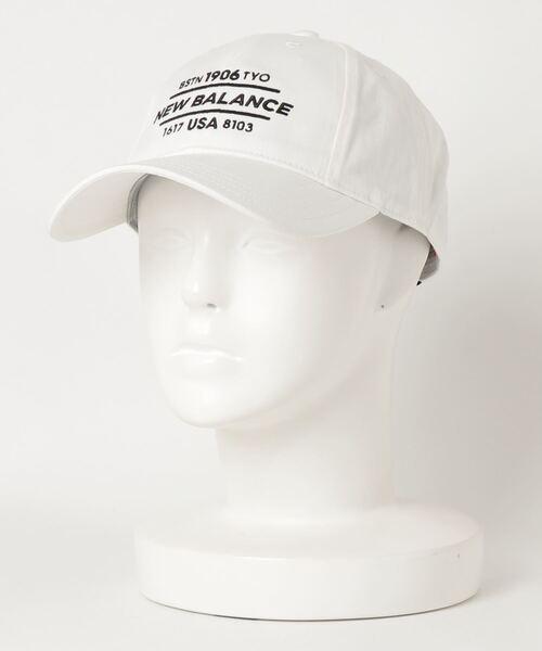 New Balance Golf(ニューバランスゴルフ)の「【new balance golf】6パネルズ キャップ(キャップ)」|ホワイト