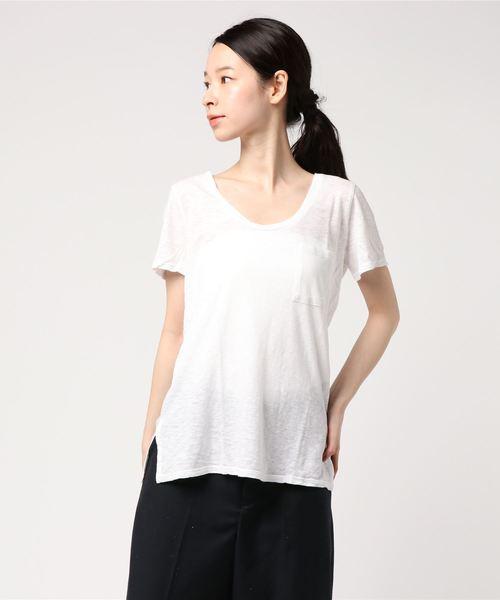 お気に入り 【セール】Marisol 5月号掲載/エコニット ポケットT(Tシャツ/カットソー) dots|three dots(スリードッツ)のファッション通販, 適切な価格:694a0374 --- fahrservice-fischer.de