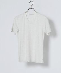 MEN'S MELROSE(メンズ メルローズ)のミックスパイルTシャツ(Tシャツ/カットソー)