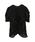 SNIDEL(スナイデル)の「【MORE 9月号掲載】シースルーパフスリーブブラウス(シャツ/ブラウス)」 ブラック