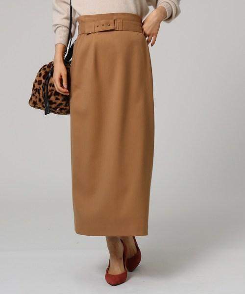 【正規品】 [L]ツイルベルテッドタイトスカート(スカート) UNTITLED(アンタイトル)のファッション通販, エクステリアのプロショップ キロ:ec1ddc71 --- 888tattoo.eu.org