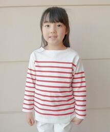【coen キッズ/ジュニア】コンパクト天竺ボーダーTシャツ