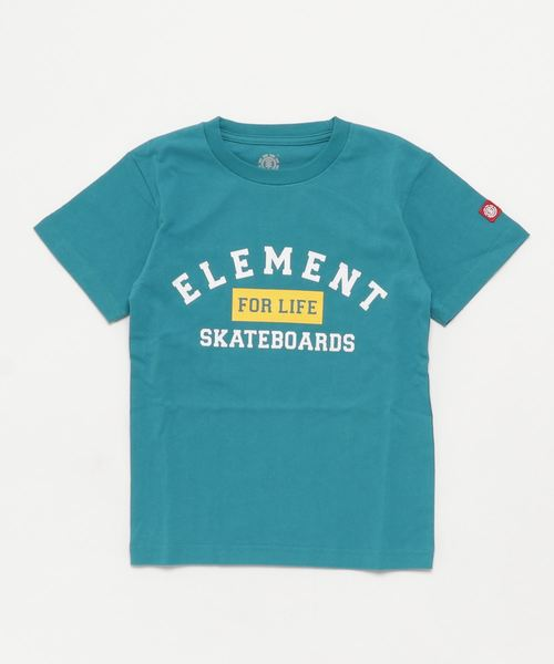 ELEMENT キッズ FOR LIFE SS BOY Tシャツ(130~160)