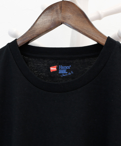 【Hanes/ヘインズ】Hanes ジャパンフィット (アソート:ホワイト&ブラック)【2枚組】クルーネックTシャツ