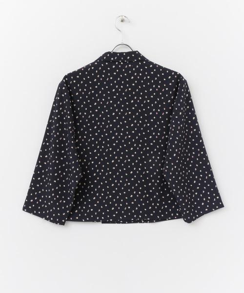 【TGC着用アイテム】変形ドットオープンカラーシャツ